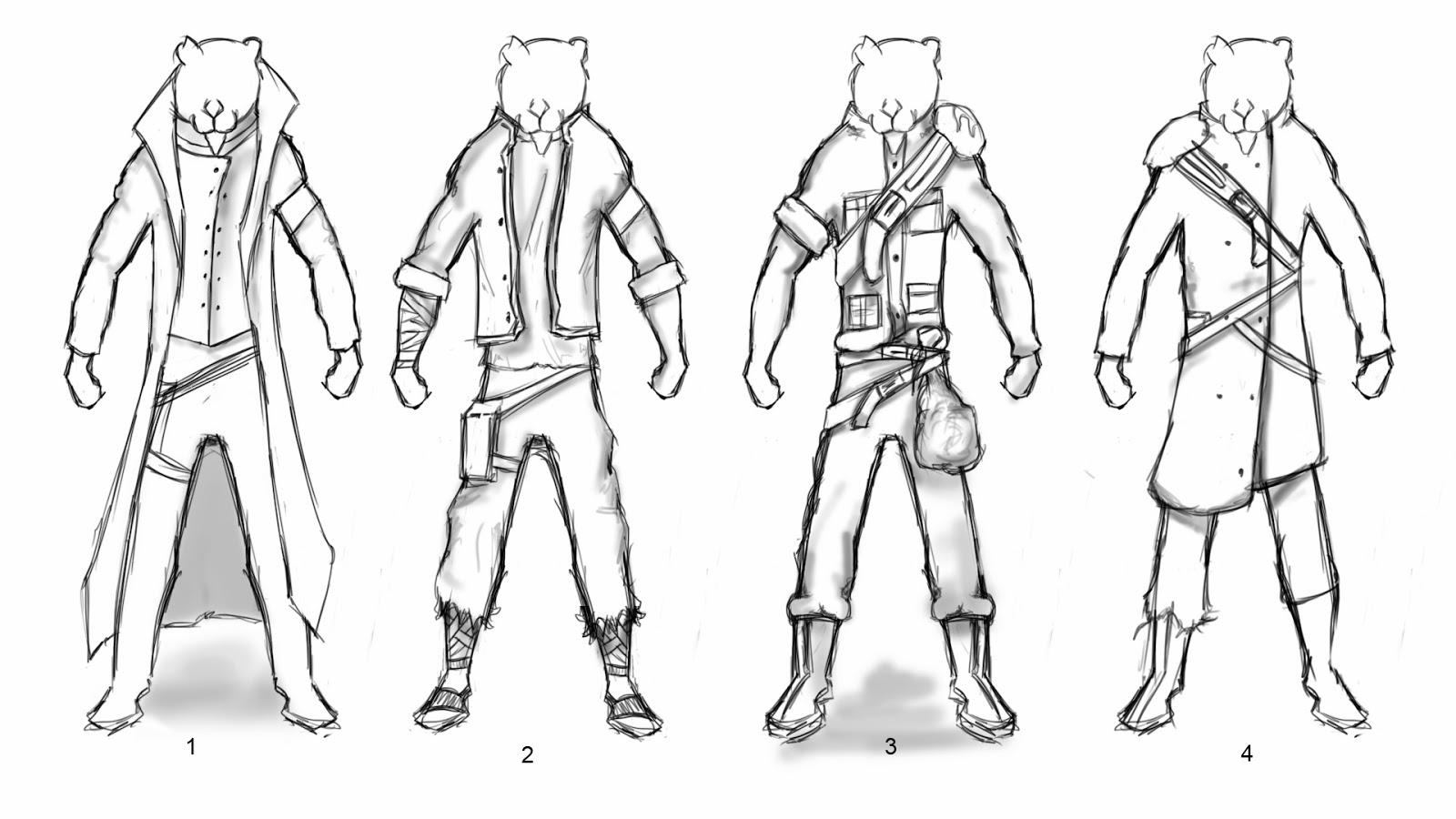 Character Design Hero : George nwosisi character design hero and villain costume