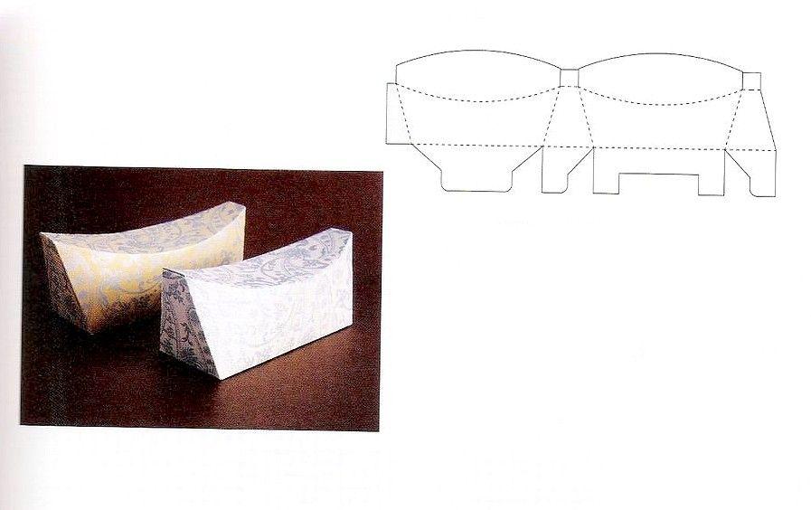 Необычные коробочки из бумаги своими руками