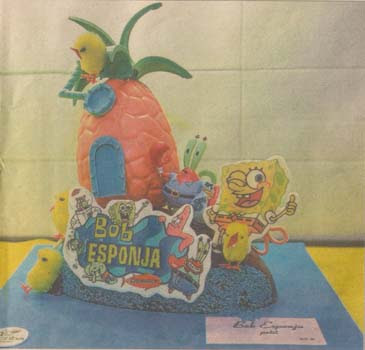 Bob esponaja de chocolate