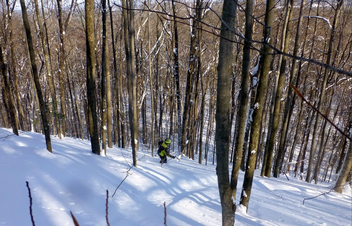 the saratoga skier and hiker backyard backcountry