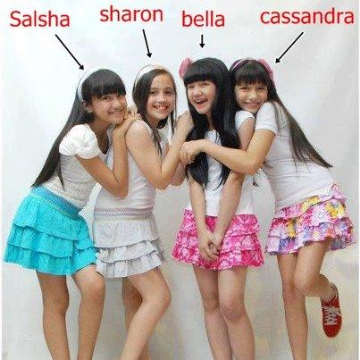 Profil BeSSara Girlband Biodata 4 Cewek Imut Pemeran Hanya Kamu
