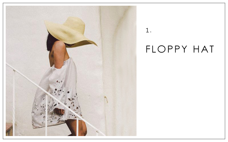 floppy hat, summer accessories