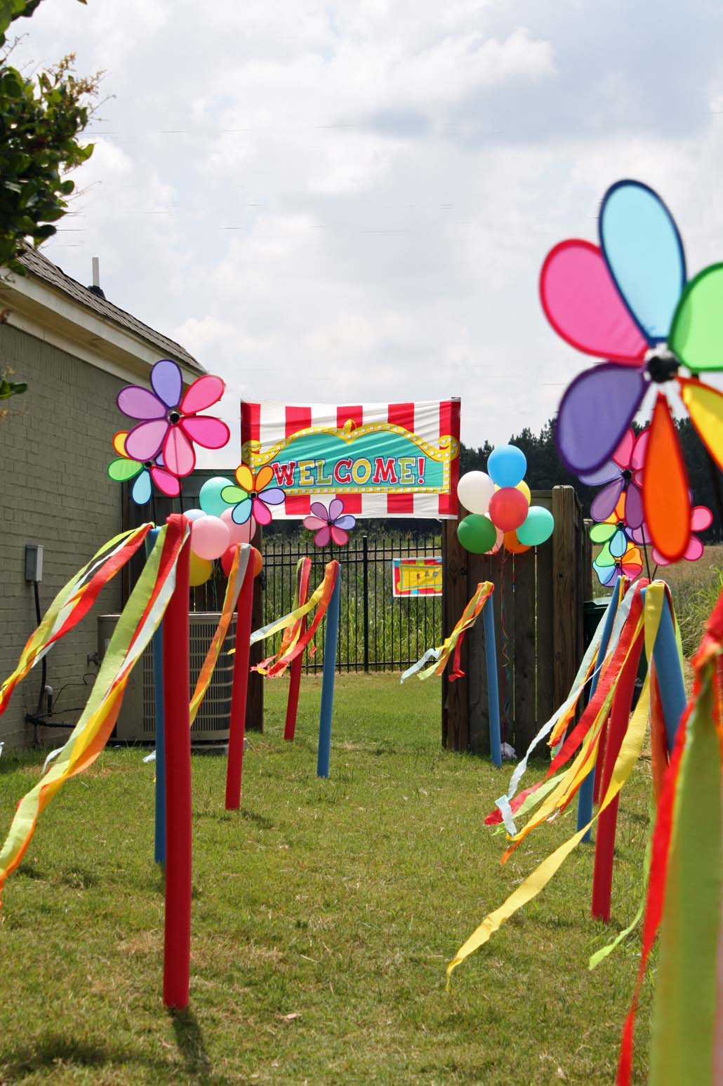 Southern Lagniappe Carnival Birthday Party