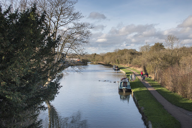 The Grand Union Canal - Old Wolverton