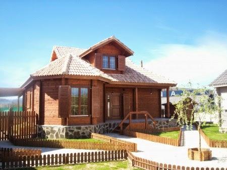 Casas de madera casas prefabricadas caba as - Casas prefabricadas en navarra ...