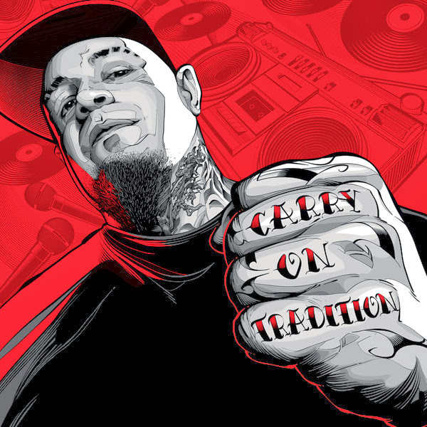 Vinnie Paz - Carry on Tradition - EP  Cover