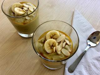 Banánovo-avokádový puding bez vaření