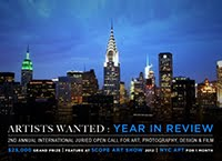2012.ARTISTS WANTED. ART IN NEW YORK - ART TAKES TIMES SQUARE. USA.