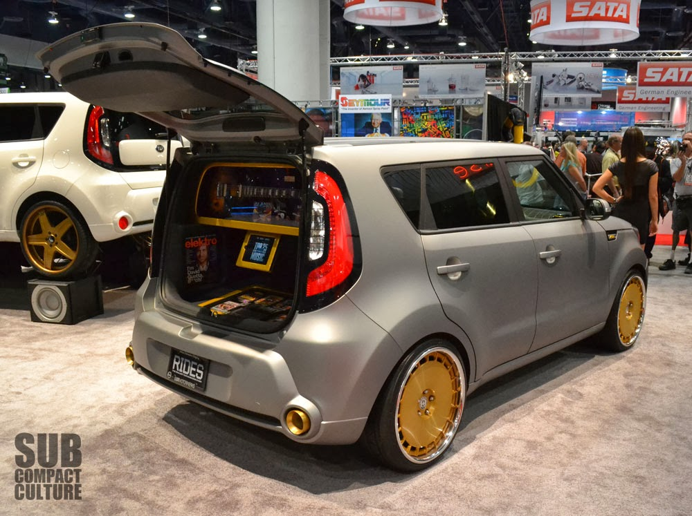 the small cars from the 2013 sema show subcompact. Black Bedroom Furniture Sets. Home Design Ideas