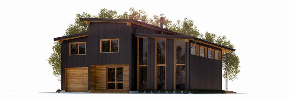 Plantas de casas modernas ch300 planta de casa moderna for Casa moderna 8