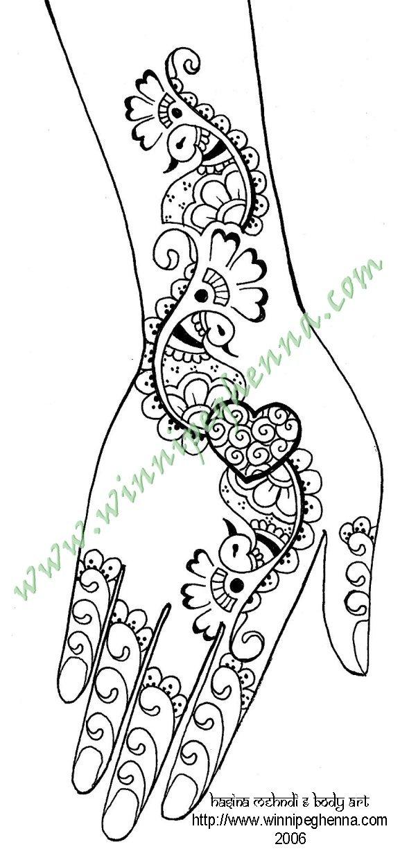 Mehndi Patterns Printable : Mehndidesignsclub all about mehndi designs