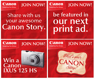 Canon Celebrates 15 Years What's your Canon Strory?