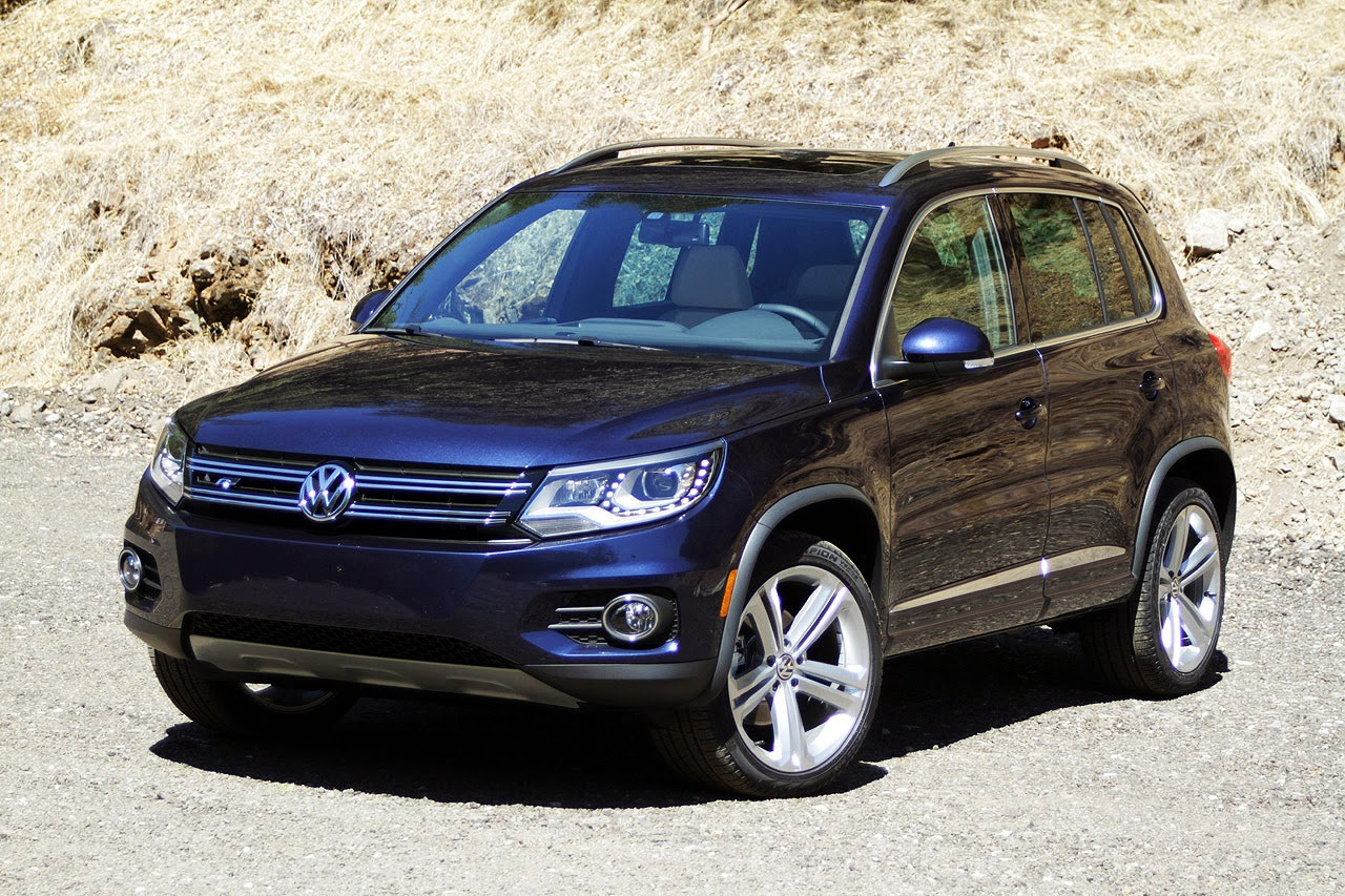automotiveblogz 2014 volkswagen tiguan r line photos. Black Bedroom Furniture Sets. Home Design Ideas