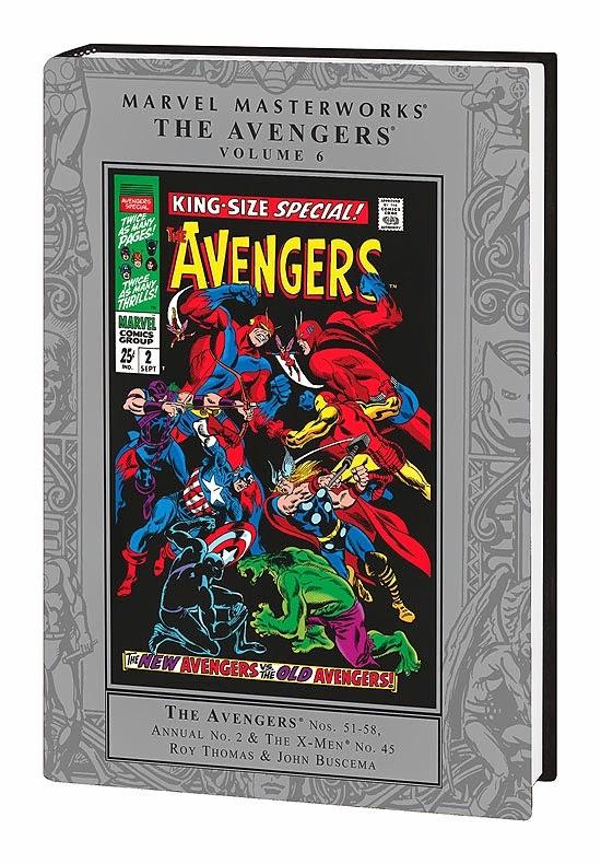Avengers Marvel Masterworks Vol. 6