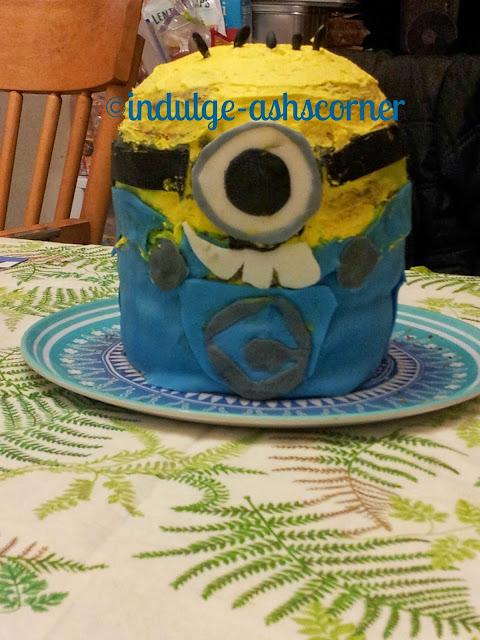 Minion Rush!!!! Ba-Ba-Bananna!!!!! Cake