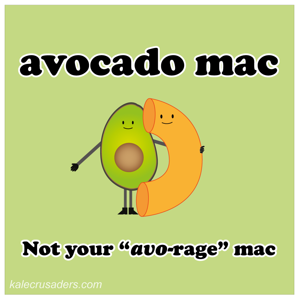avocado mac and cheese, avocado macaroni and cheese, not your average mac, not your avo-rage mac, dairy-free macaroni and cheese, dairy -ree mac and cheese