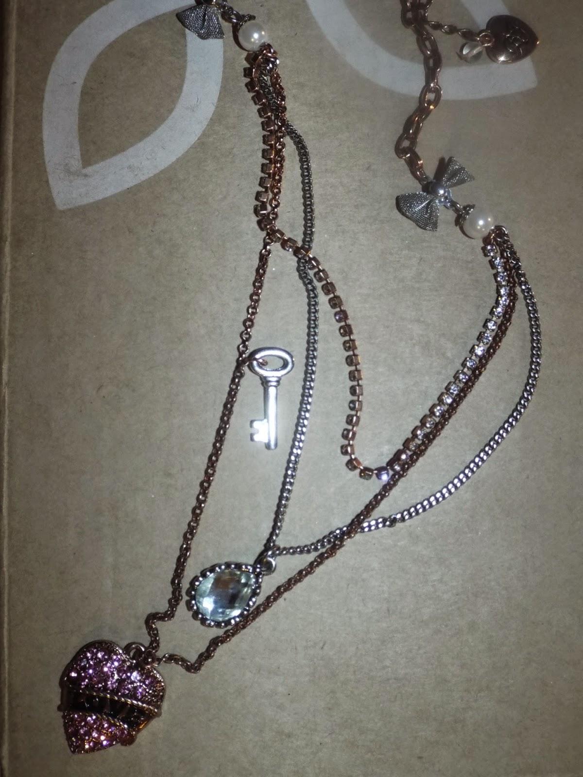 Betsey Johnson Love Necklace