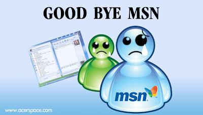 MSN ทวิตอำลาสังคมออนไลน์ ปิดตัวถาวร