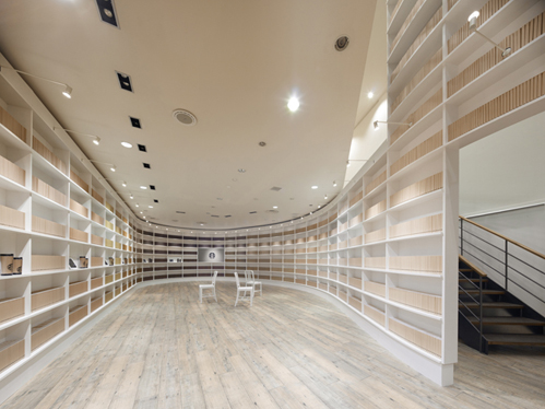 Starbucks pop-up shop Tokyo, by nendo