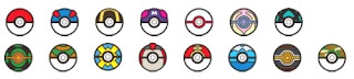 Pokemon Cover Collection Selectable Pokeball Softbank
