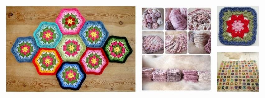 Crea patrones granny square ~ Crochetadas