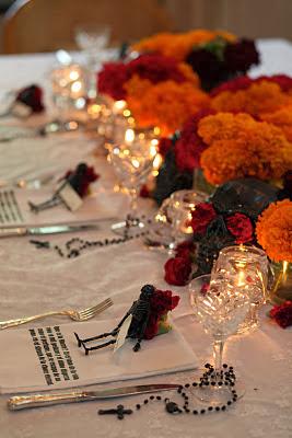 Dia De Los Muertos Day Of The Dead party table