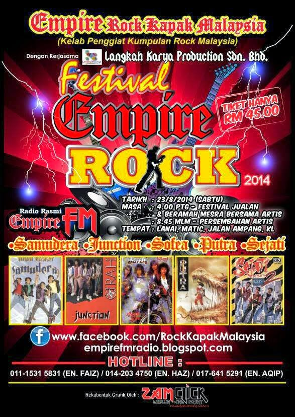Event Festival Empire Rock