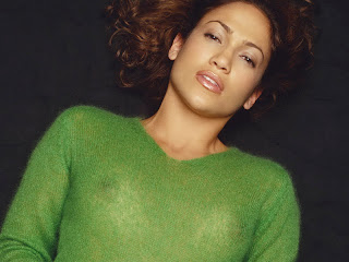 Jennifer Lopez in see through sweater Barry Hollywood photosession 4xUHQ
