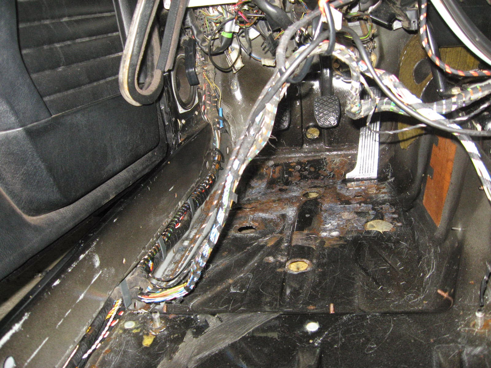 Dennys M62b44 Swap Ms2 Installed First Start Video Inside Page Microsquirt Wiring After Cleaning Vacuuming Removing All The Oem Tar And As Much Rust Possible These Floors Are In Great Solid Condition For A Car Of 23