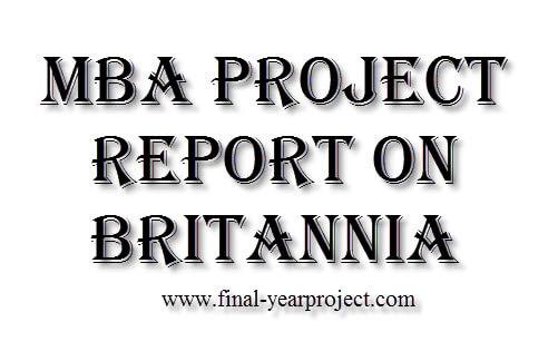 Report on Britannia