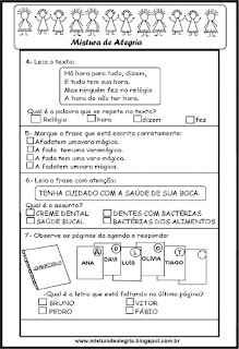 Avaliacao diagnostica 3º ano