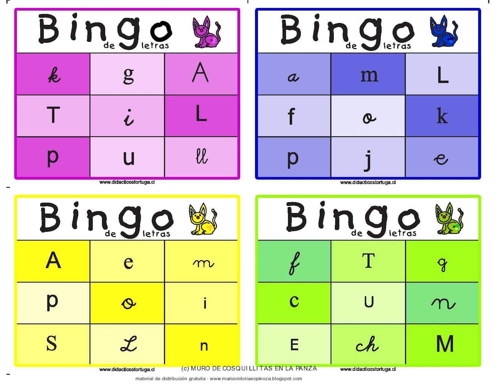 Único Plantilla De Bingo Imprimible Componente - Colección De ...