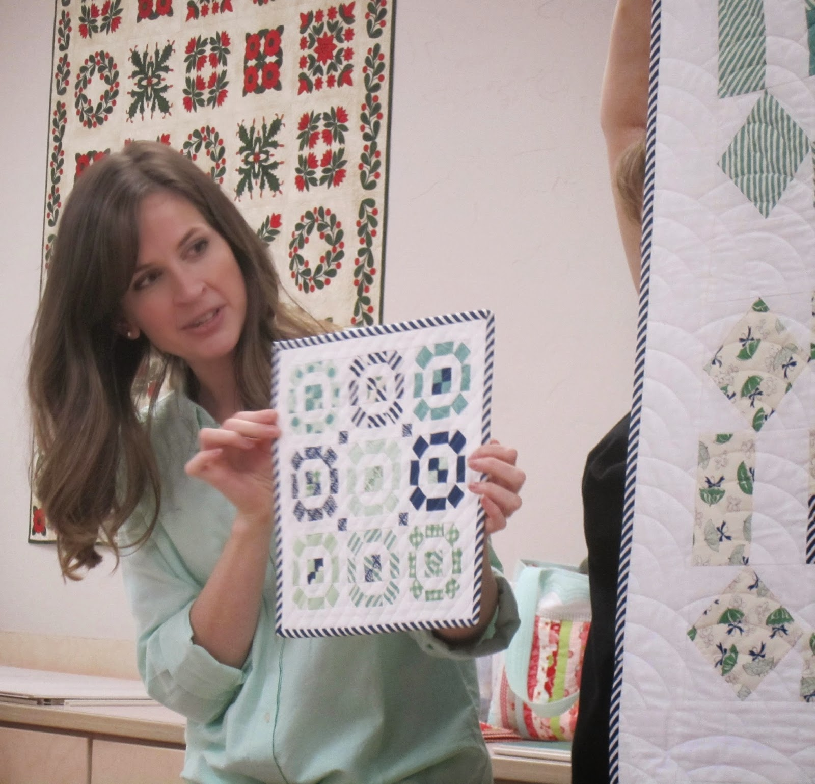 camille roskelley's mini puddle jumping quilt