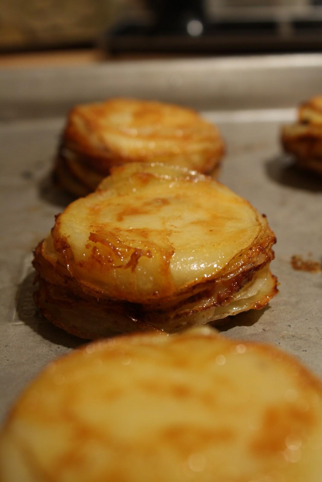 Martha Monday: Muffin Pan Potato Gratins | Sassy Suppers