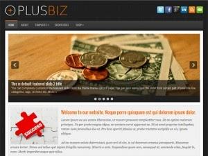 PlusBiz - Free Wordpress Theme