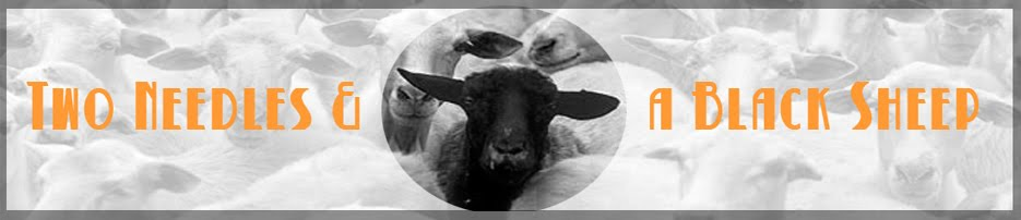 Two Needles and a Black Sheep