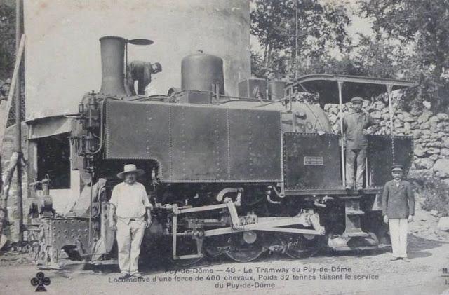 Locomotive du Puy de Dôme.