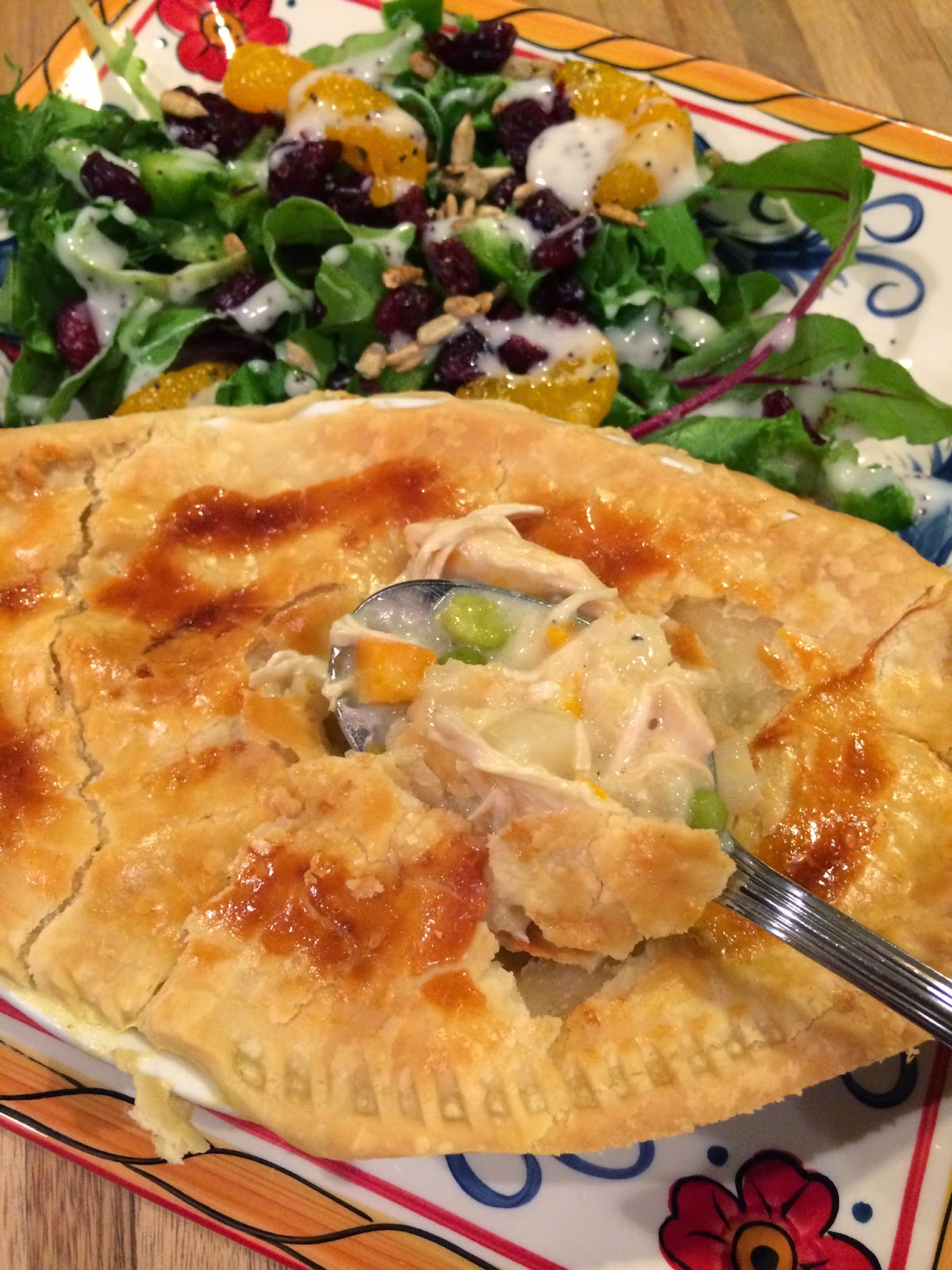 Dream Home Cooking Girl: Homemade Chicken Pot Pies...need I say more ...