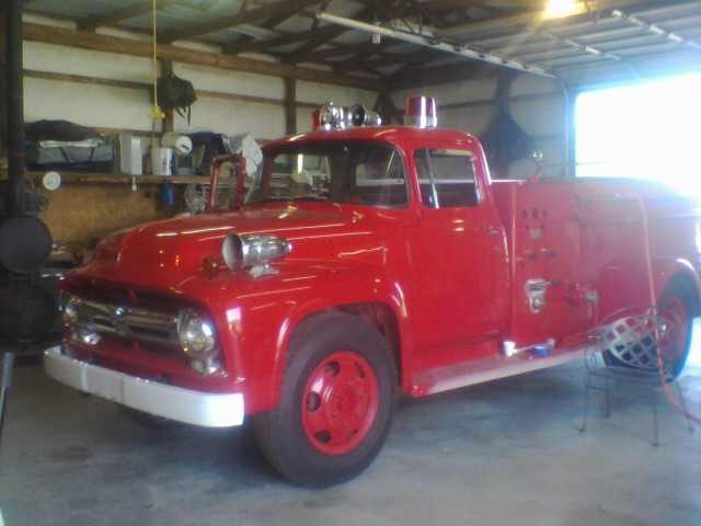 Download image 1956 Ford Fire Truck PC, Android, iPhone and iPad ...