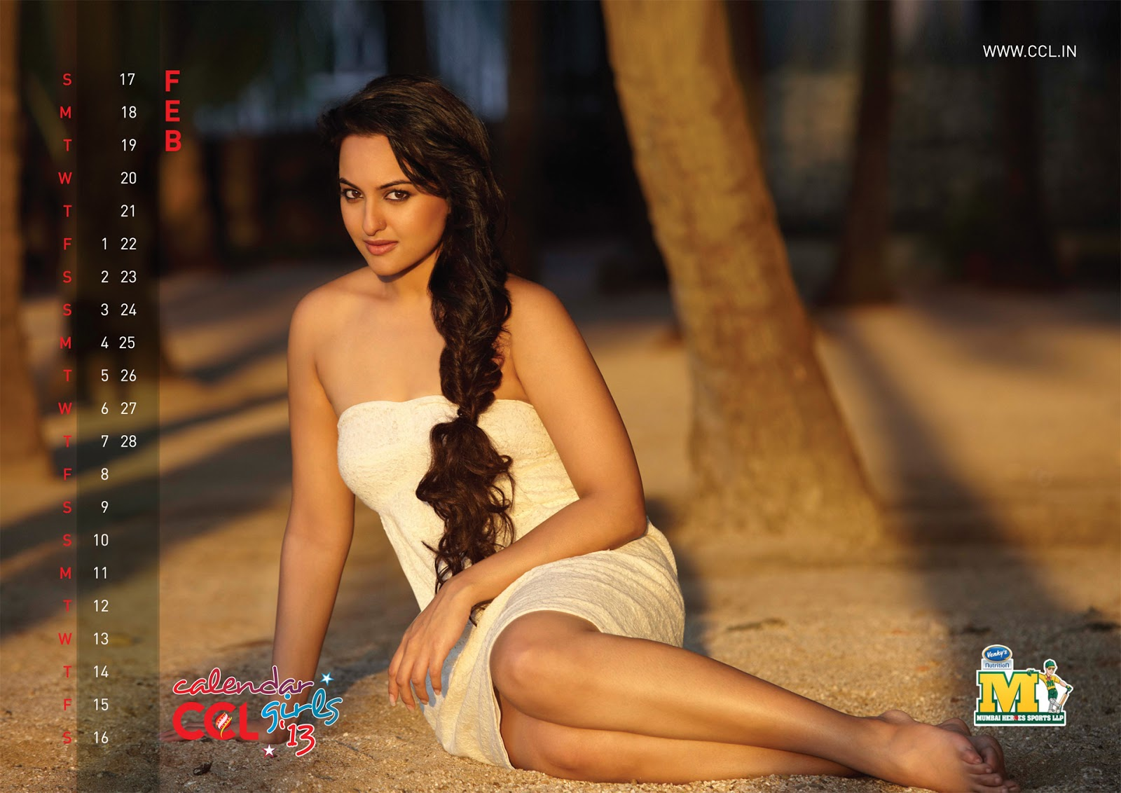 Celebrity Cricket League (CCL) calender hot photoshoot ...