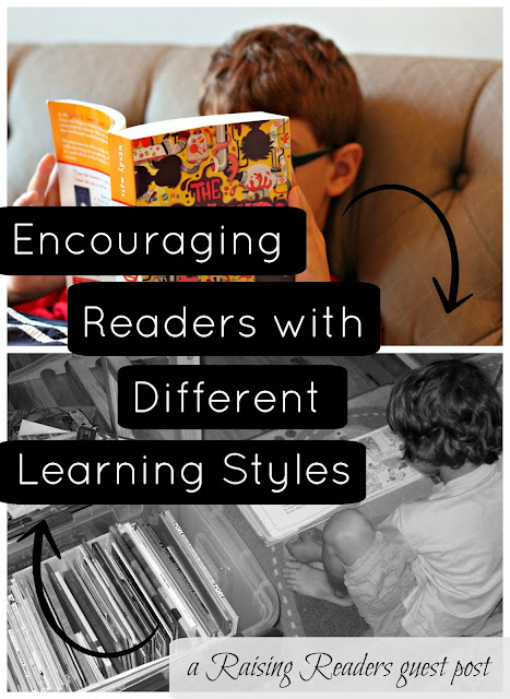Sunlit Pages // How to encourage readers with different learning styles (guest post from Erica of What Do We Do All Day)