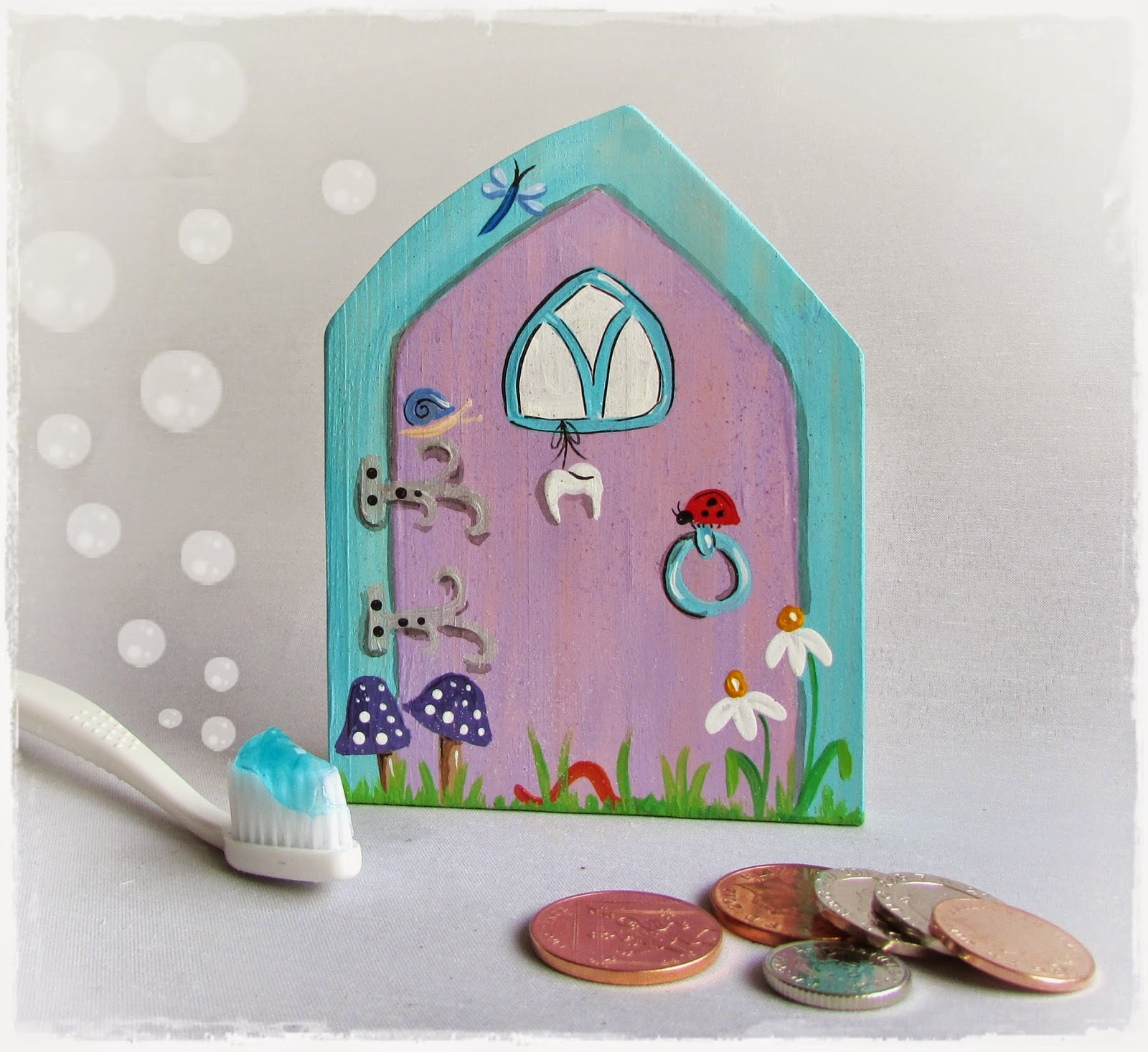 Handcrafted by picto tooth fairy doors for boys girls for Tooth fairy door
