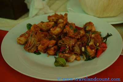 Spicy Chicken in Lemon Grass Angkor