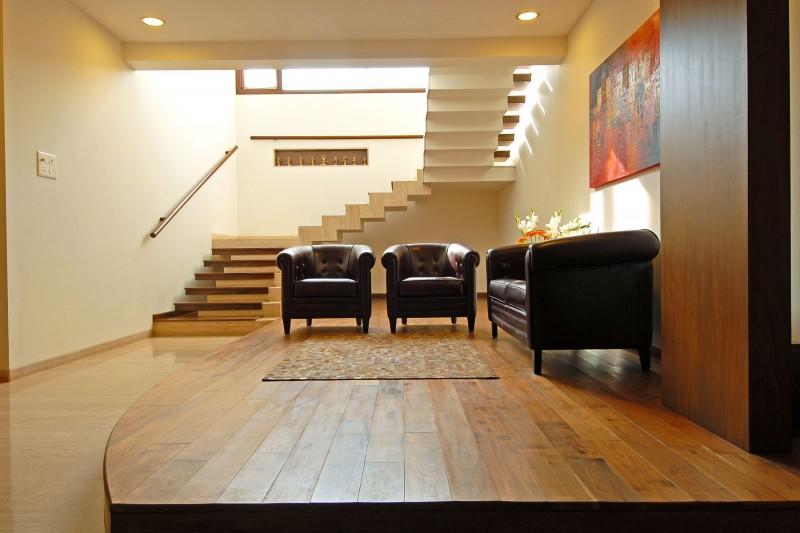 Architect designed duplex homes joy studio design for Duplex house interior designs images