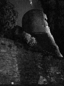 La Rocca di Bergamo da  dove venne lanciato Francesco Spangher