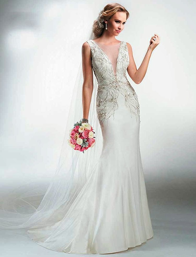 Vestido de novia para renovar los votos matrimoniales