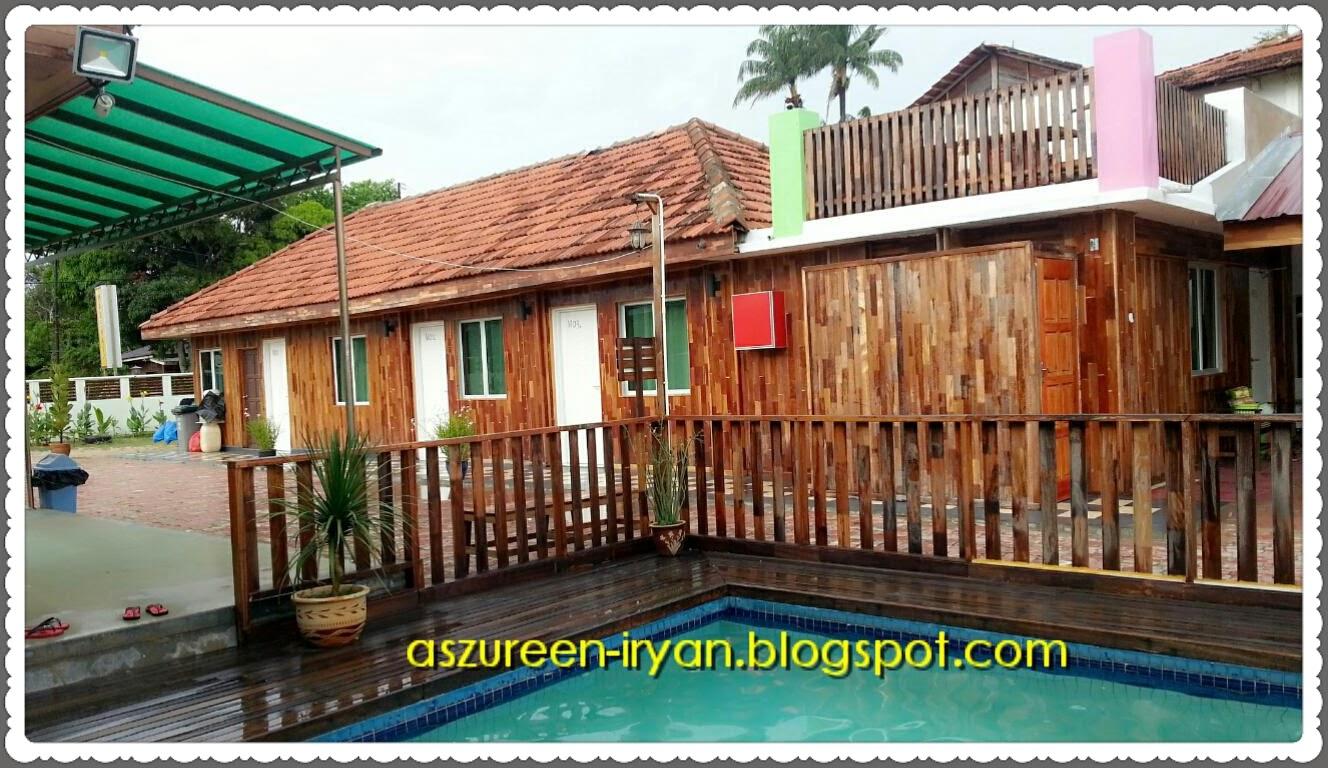Salah Satu Bangunan Bilik Yang Ada Di Resort