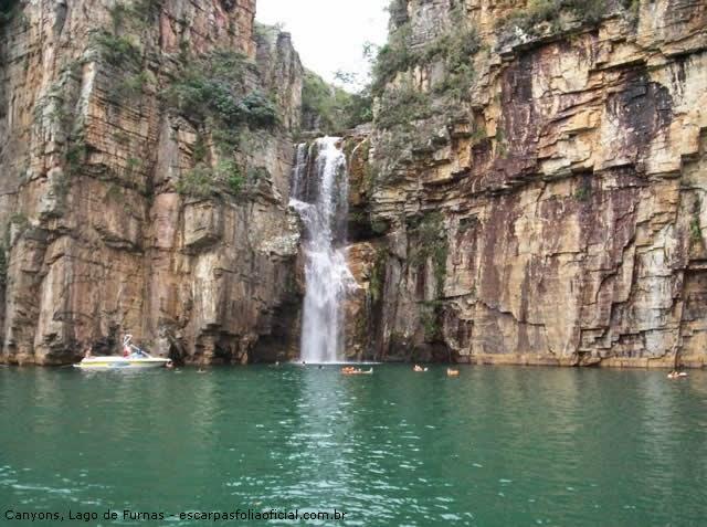 Canyons, Lago de Furnas - Usina Hidrelétrica de Furnas - São José da Barra, São João Batista do Glória - Minas Gerais