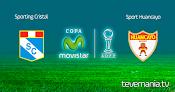 Sporting Cristal vs Sport Huancayo - Torneo Apertura