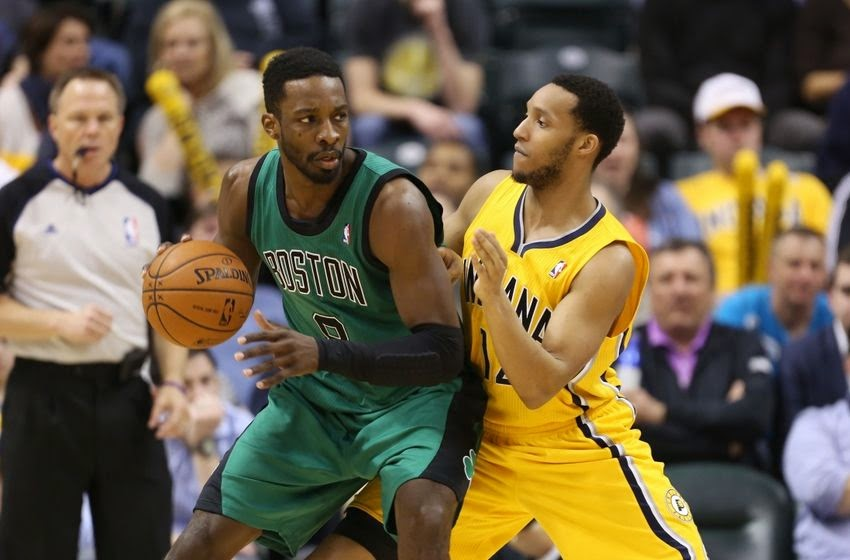 Evan Turner Jeff Green Battle